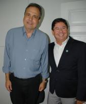 Pedro Paulo e Luiz Henrique Mansur